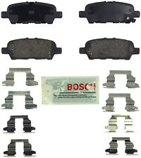 Rear Blue Disc Brake Pads Bosch BE905H for Infiniti EX35 G25 Nissan 370Z Murano