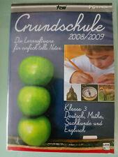 Grundschule 2008/2009 - Lernsoftware Klasse 3 - PC CD-ROM