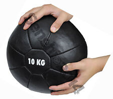 Genuine Leather Medicine Ball 10kg For Commercial Use-Heavy Duty Medicine Ball