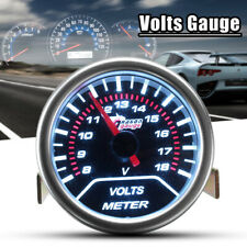 2'' 52mm Universal Car Motor Digital LED Volt Voltage Gauge Meter Pointer 12V UK