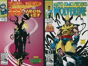 WOLVERINE #118  (NM) Flip Comic Ghost Rider Preview Doom 2099 !   A1.472