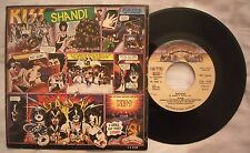"7"" 45 KISS - SHANDI - SHE'S SO EUROPEAN - ANNO 1980 - Stampa italiana CA 539"