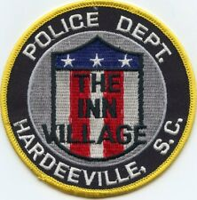 HARDEEVILLE SOUTH CAROLINA SC The Inn Village POLICE PATCH