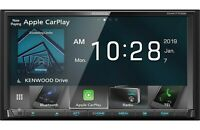 "Kenwood 2-DIN 6.95"" Touchscreen Car Stereo Digital Multimedia Receiver *DMX7706"