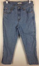 Levis Capri Jeans Size 10 Classic Women's Light Wash Cropped Denim