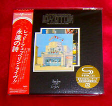 Led Zeppelin The Song Remains The Same 2 SHM MINI LP CD JAPAN WPCR-13138-39