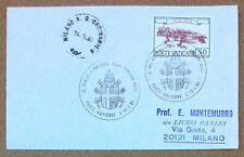 Storia postale Vaticano 1980 - 50° Anniversario con annullo speciale - VG