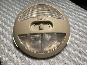 Saturn Aura Chevrolet HHR Cobalt Pontiac G5 Malibu interior dome light tan OEM