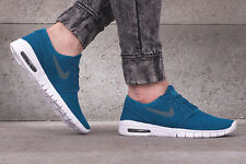 NIKE STEFAN JANOSKI MAX Trainers SB Air - UK Size 8.5 (EUR 43) - Abyss Hasta