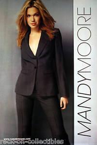 Mandy Moore 2001 Self Titled Original Promo Poster