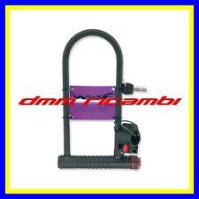 Archetto Antifurto BICI 12mm misura 105x280 Arco Blocca Ruota Ciclo Bicicletta