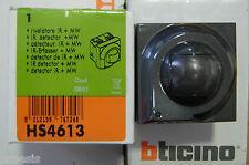 BTICINO HS4613 My Home Axolute antracite rivelatore doppia tecnologia antifurto