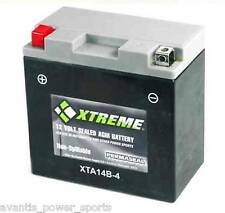 BATTERY  Xtreme AGM Permaseal XTA14B-BS (B-4)