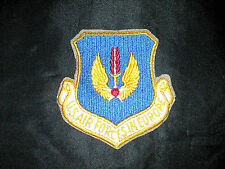 USAF HQ UNITED STATES AIR FORCES EUROPE USAFE RAMSTEIN GERMANY NATO COLOR PATCH