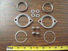 EXHAUST FLANGE KIT WITH ACORN NUTS FOR EVOLUTION & TWIN CAM HARLEY DAVIDSON