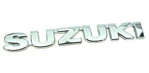 Genuine New SUZUKI REAR BADGE Boot Trunk Emblem For Liana 2001-2007 DDiS 4WD