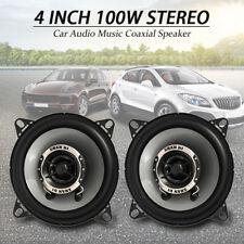 2x 200 W 4 in (ca. 10.16 cm) 10 cm A Doppio Cono Portiera/MENSOLA Dash Coassiale Altoparlante per BMW VW