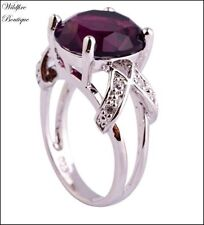 Alloy Amethyst Stone Fashion Jewellery