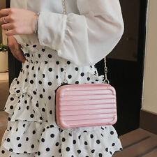 Women Messenger Bags Fashion Leisure Chain Suitcase Single-shoulder Bag CO