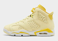 Air Jordan Retro 6 GS Citron Yellow Size 4-7Y 543390-800 LIMITED 100% Authentic