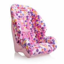 Joovy Doll Toy Booster Seat Dot Pink, Kids Children Girl Toy Doll Accessory