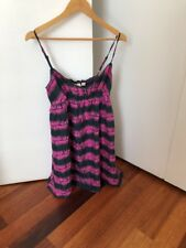 Kenji ladies grey/pink dress, size 10