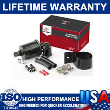 Low Pressure Electric Fuel Pump 12V Gas Diesel 5-9PSI  E8012S w/Installation Kit