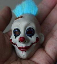 Custom Joker Clown 2.0 1/6 Grumpy Mask for Hot Toys DX11 Bank Robber Head Sculpt