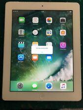 Apple iPad 4 Tablet a1460 16gb 9,7 pulgadas plata WiFi + Cellular . Incluyo fund