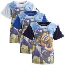 Markenlose Jungen-T-Shirts, - Polos & -Hemden mit Rundhals-Ausschnitt und Motiv