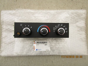 08 - 18 CHEVY EXPRESS 3500 2500 A/C HEATER CLIMATE TEMPERATURE CONTROL OEM NEW