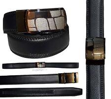 "Women's belt. 38"" Genuine Leather Dress/Casual Belt Quick lock Micro adjust belt"