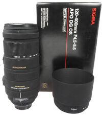 Sigma APO DG OS 4,5-5,6/120-400mm #10771345 Nikon AF