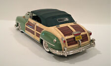 MOTOR CITY 1948 CHRYSLER TOWN & COUNTRY CONV.  GREEN - MC 22