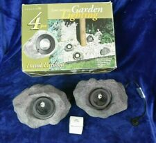 Paradise Low Voltage Outdoor Rock Light Set plus Two Other Rock Lights - New