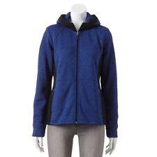 NWT Womans LARGE ZEROXPOSUR Blue Fleece Jacket AWESOME ~ L@@K!