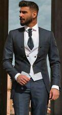 Men's Tuxedo Wedding Suits Slim Fit Formal Groomsman Best Man Tailcoat Prom Sets
