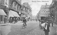 POSTCARD   MANCHESTER   Market   Place