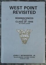 US Army West Point Revisited Class of 1946 50 yrs Later - Gen. McWhorter Signed