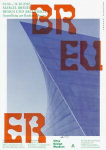 Plakat -  Bauhaus Marcel Breuer Design u. Architektur/  F7