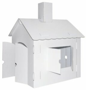 Kreul JoyPac Bastelkarton XL Spielhaus (39106) Wellpappe Bastelkarton Bastelset