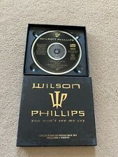 Wilson Phillips You Won't See Me Cry CD Single Boxset Postcards