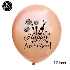 2022 Happy New Year Aluminum Foil Balloon Banner Set Christmas Party Supplies Q
