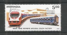 INDIA 2005 RAILWAY COACH FACTORY SG,2301 UM/M NH LOT 3586A