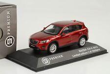 Mazda cx-5 SUV 2013 rouge métallisé 1:43 Triple 9 Premium