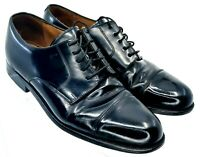 Cole Haan Caldwell Oxford Men 9D Black Leather Cap Toe Lace Up Dress Shoes 08330