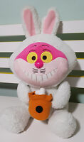CHESHIRE CAT IN BUNNY OUTFIT SOFT CUTE SEGA DISNEY ABOUT 36 CM TALL !!