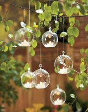Glass Bauble Candle & Tea Light Lanterns