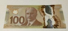 Canadian $100 Dollar Bill Bank Note 2011
