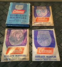 Vintage Coleman Silk-Lite Lantern Mantles Box of 6